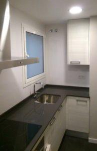 Reforma cocina en Barcelona vitro