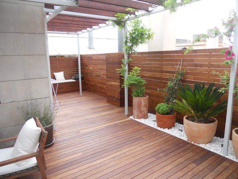 Diseo terrazas aticos el post de las terrazas estilo rabe - Reformar terraza atico ...