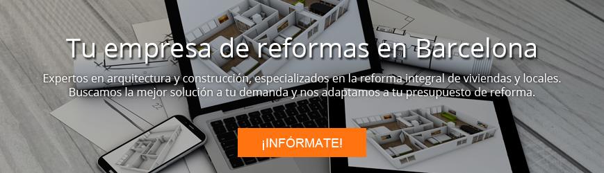 Contacta con Adapta Reformas: tu empresa de reformas en Barcelona