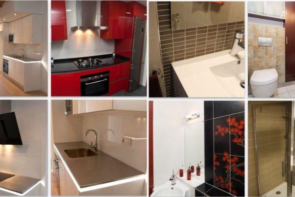 Las reformas de cocinas y baños que se afrontan conjuntamente permiten un ahorro en materiales e infraestructuras que se compartan en ambas estancias entre otras ventajas