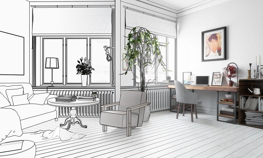 Gana espacio útil con una reforma integral de apartamento