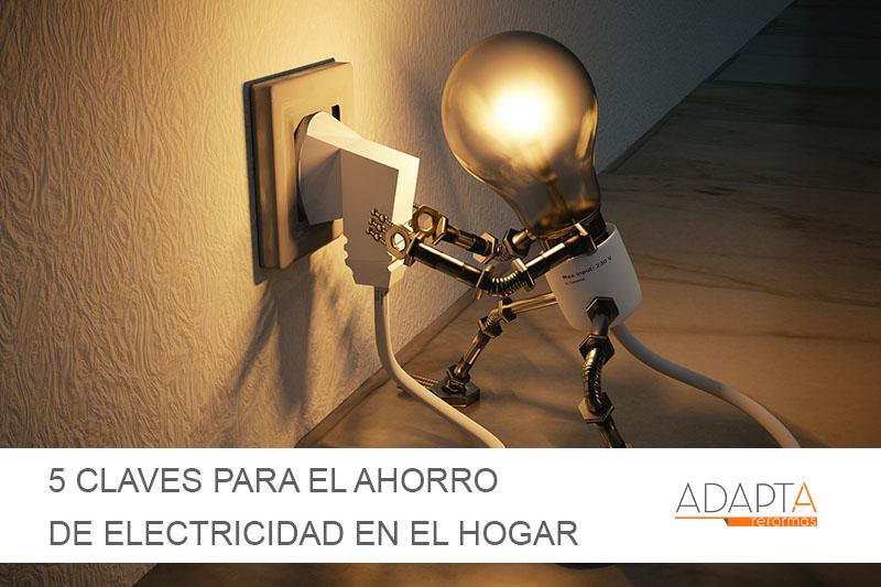 Cinco claves que facilitan el ahorro de electricidad en el hogar