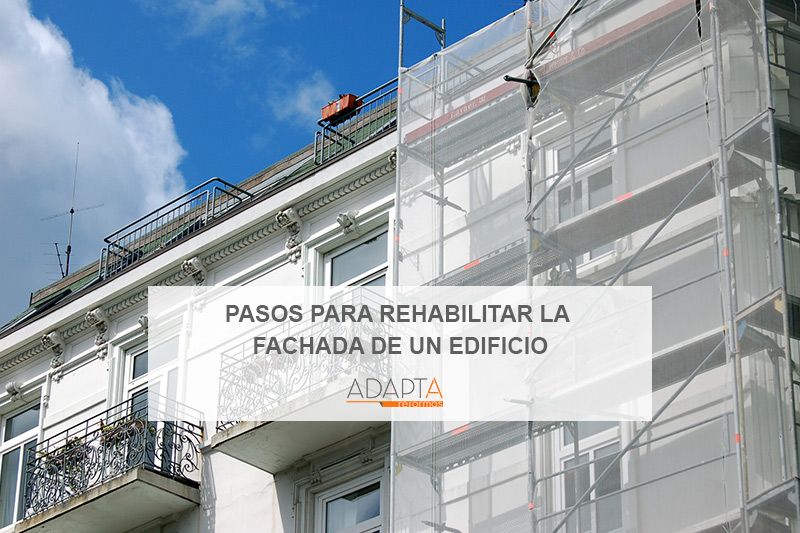 rehabilitar fachada edificio barcelona
