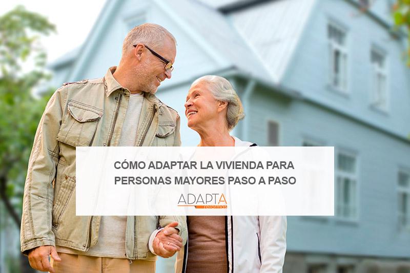 Cómo adaptar la vivienda para personas mayores paso a paso